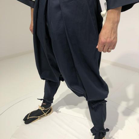 【B-032】鎧直垂・綿 (ネイビー)
