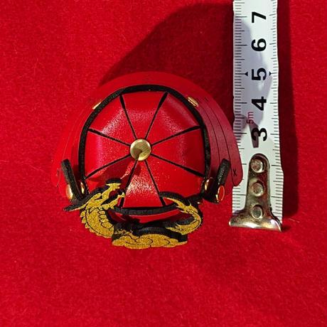 縁起物   miniサムライ達磨   (赤色)