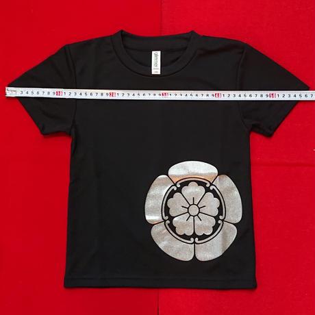 子供家紋Tシャツ      織田信長     (120cm)
