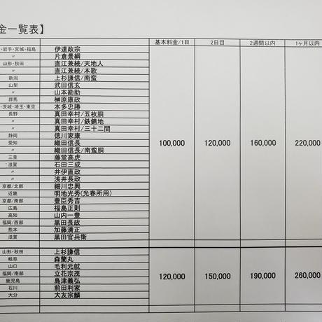 【L1-005】直江兼続・天地人 (本格レンタル)
