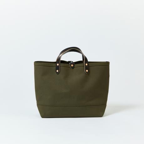 BOAT TOTE|Medium Olive × Black