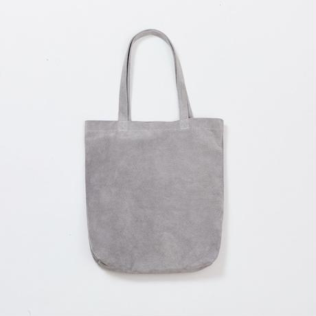 PIG TOTE| Medium Gray