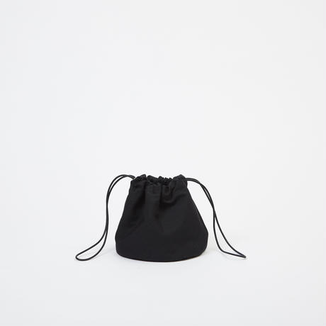 DRAWSTRING POUCH|Black