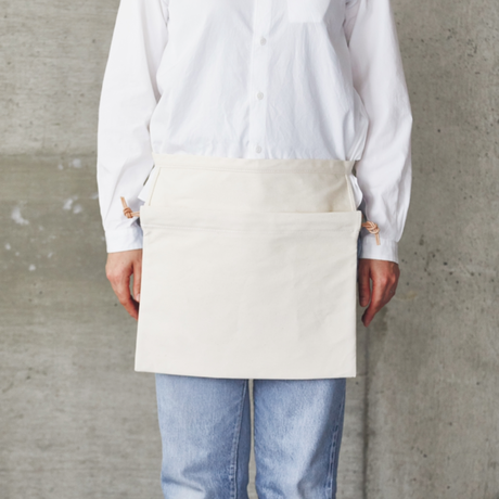 APRON BAG|Natural