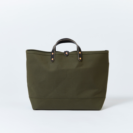 BOAT TOTE|Large Olive × Black