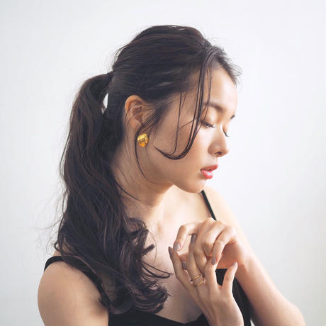 minamo - clip-on earrings -