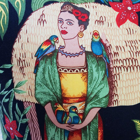 Frida Kahlo フリーダ カルロ Cushion cover