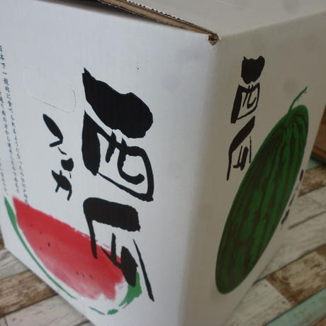 熊本県産 ハウス西瓜 L玉 6kg~8kg 1玉
