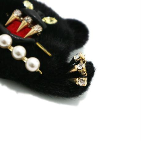 【受注生産/納期約1か月】Black panther brooch