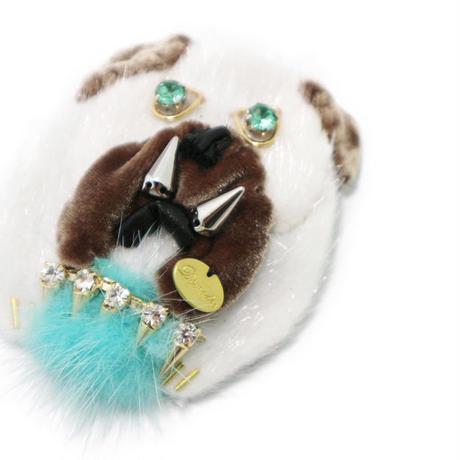Bulldog brooch