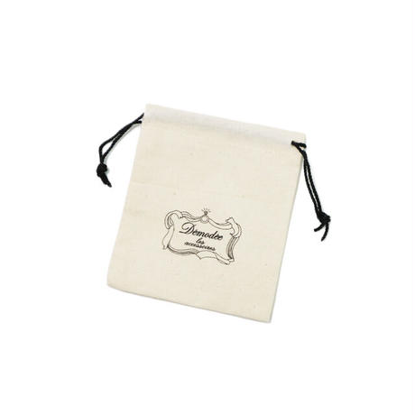 White bear mini brooch