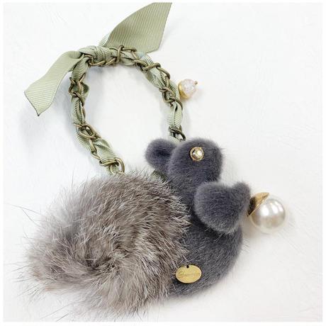 Squirrel brooch