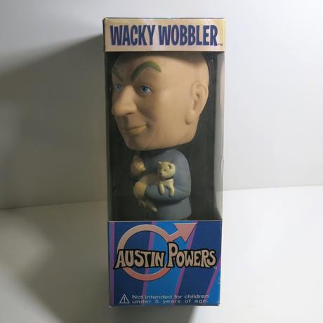 Funko -Wacky Wobbler-Bobble Head(ボビングヘッド):オースティンパワーズ Dr.イーブル