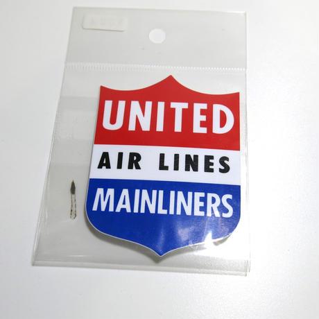 ステッカー :  UNITED AIR LINES
