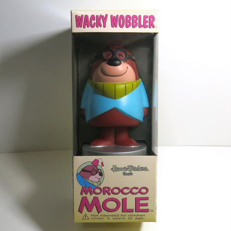 Funko -Wacky Wobbler-Bobble Head(ボビングヘッド):Morocco Mole