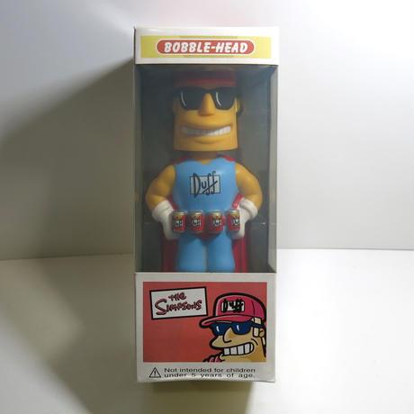 Funko -Wacky Wobbler-Bobble Head(ボビングヘッド):シンプソンズ DUFF MAN(ダフマン)