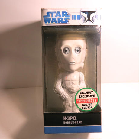 Funko -Wacky Wobbler-Bobble Head(ボビングヘッド):スターウォーズ K-3PO