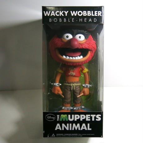 Funko -Wacky Wobbler-Bobble Head(ボビングヘッド):THE MUPPETS   ANIMAL