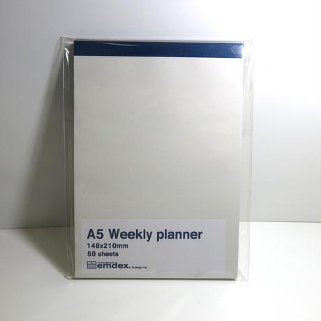emdex  A5  Weekly planner