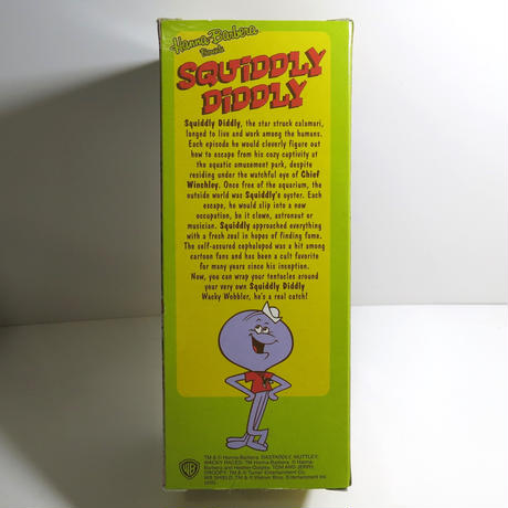 Funko -Wacky Wobbler-Bobble Head(ボビングヘッド):SQUIDDLY  DIDDLY