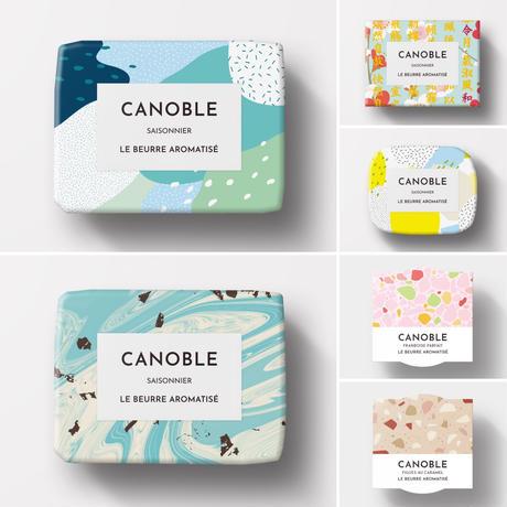 季節の爽やかバターのセット「モヒート、チョコミント、レモン、梅」(送料全国500円)