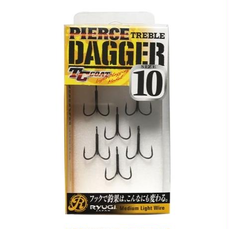 PIERCE TREBLE DAGGER #10 by RYUGI