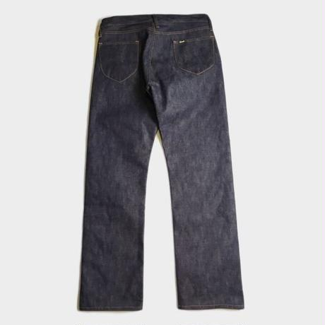 D-02ZHD STRAIGHT FIT DENIM PANTS (INDIGO)