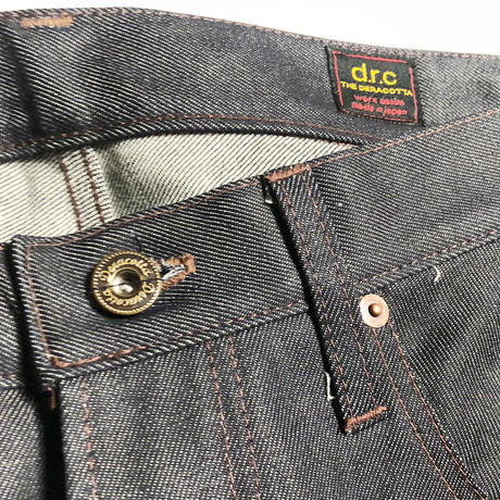 LIGHT OZ BUCKLE BACK DENIM PT