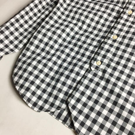 ROUND GINGHAM CHECK SHIRTS