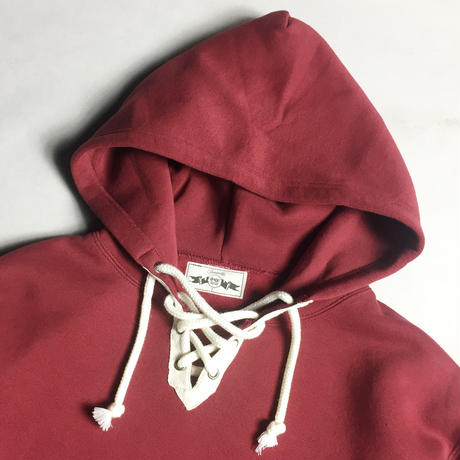 RACE UP PULLOVER HOOD