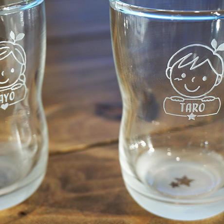 キッズの名入れグラス