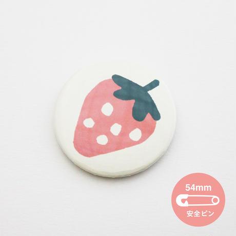 春のイチゴ【54mm】_缶バッジ