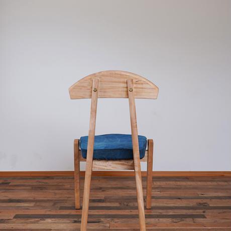 Emon chair 藍染