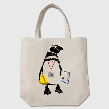 [トートバッグ] STAFF Penguin