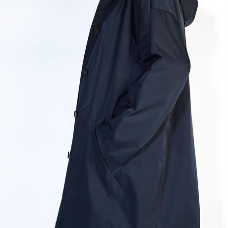 フード付きステンカラーコート | 10DCO-05SOLO