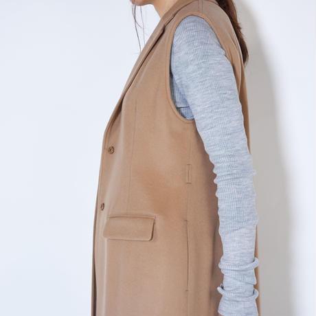 ノースリーブロングジャケット | 9DJK-01W801