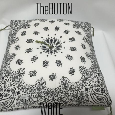 TheBUTON BANDANA WHITE