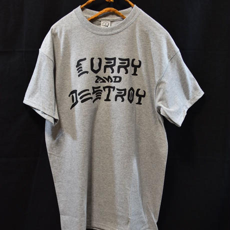 CURRY AND DESTROY  S/S TEE