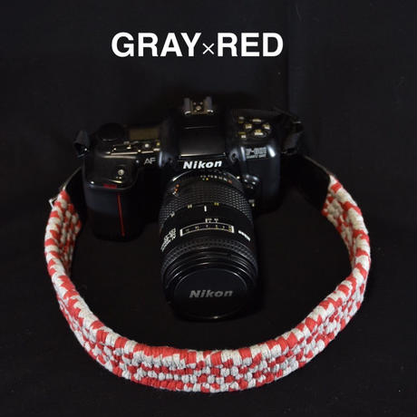 RENJAKU CAMERA STRAP/GREY