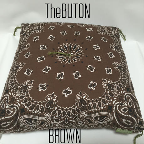 TheBUTON BANDANA BROWN