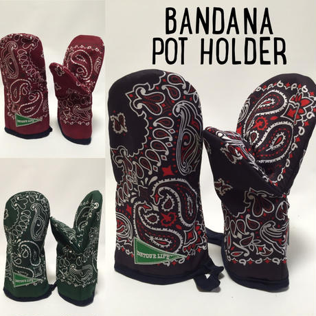 BANDANA POT HOLDER