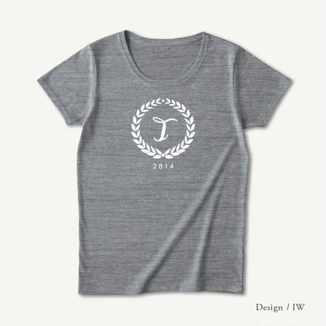 レディース トライブレンド半袖Tシャツ / ヘザーグレイ