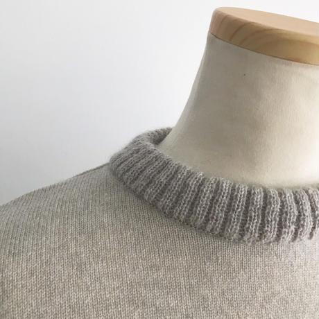 ウール&モヘアセーター