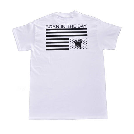 BORN IN THE BAY Tee | White
