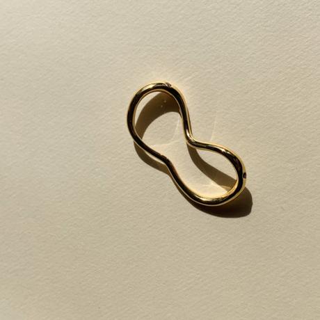 Two fingers Loop (pink tourmaline)