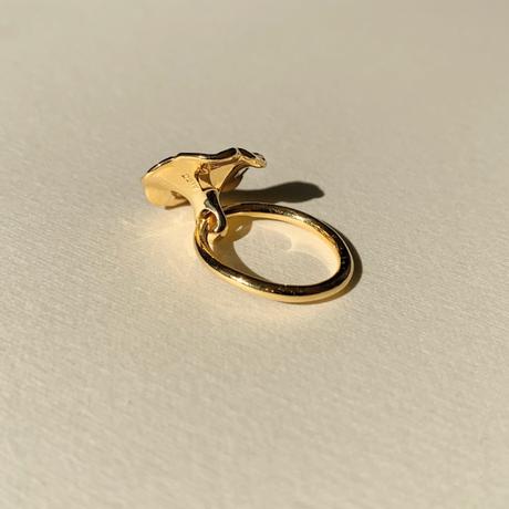 Petunia Ring (citrin)