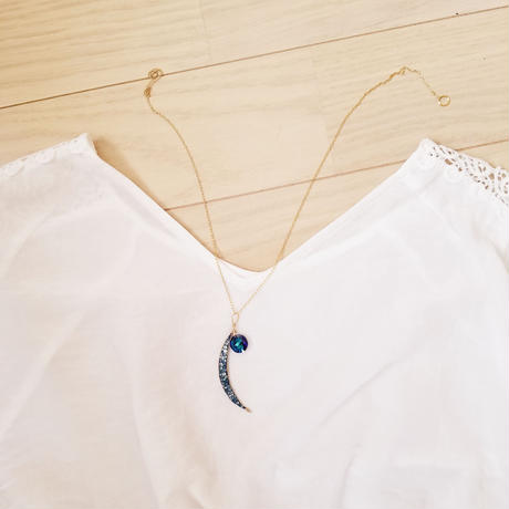 【Arabian Dream】Suncatcher®Jewelry[MOON Necklace]
