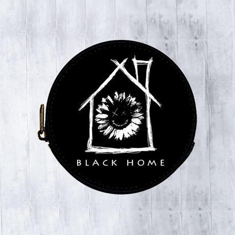 【 black home 】レザーコインケース