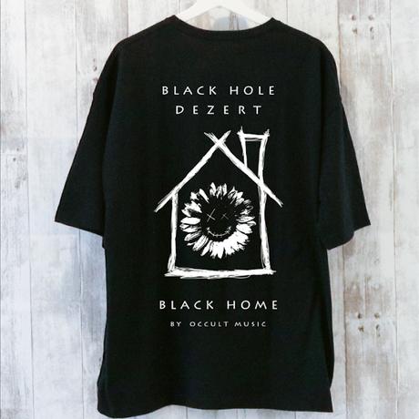 【 black home 】BIGシルエットTシャツ