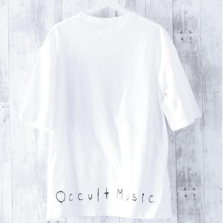 BIGシルエットTシャツ(ホワイト・包丁)